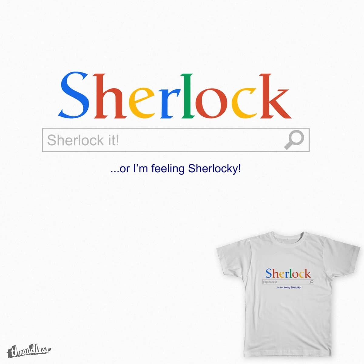 Sherlocking by mestre on Threadless