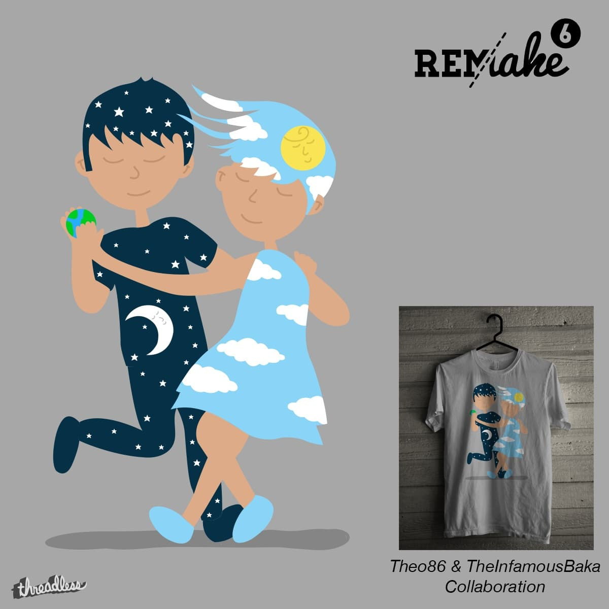 Day & Night by Theo86 and TheInfamousBaka on Threadless