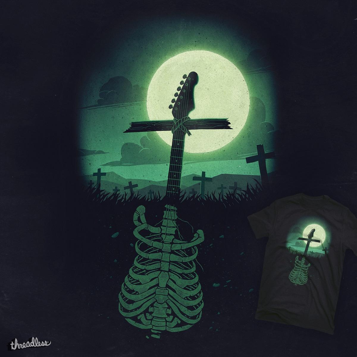 Rock Till Death! by tetsoo on Threadless