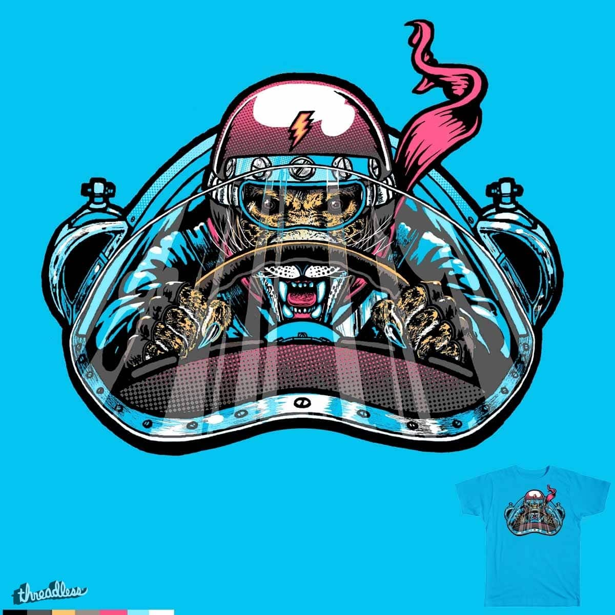 Need For Speed by goliath72 and choubaka360 on Threadless