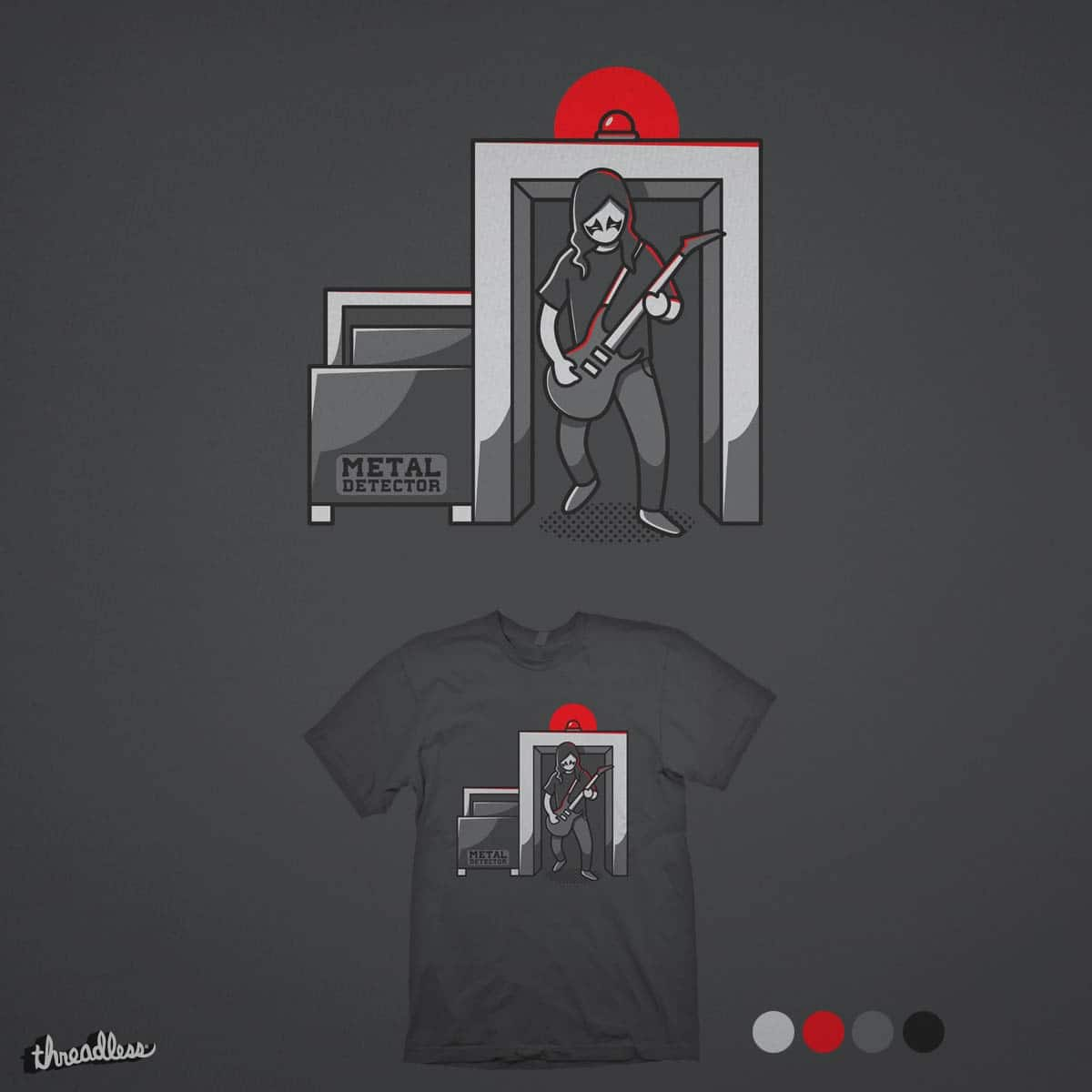 Metal detector by solechan on Threadless