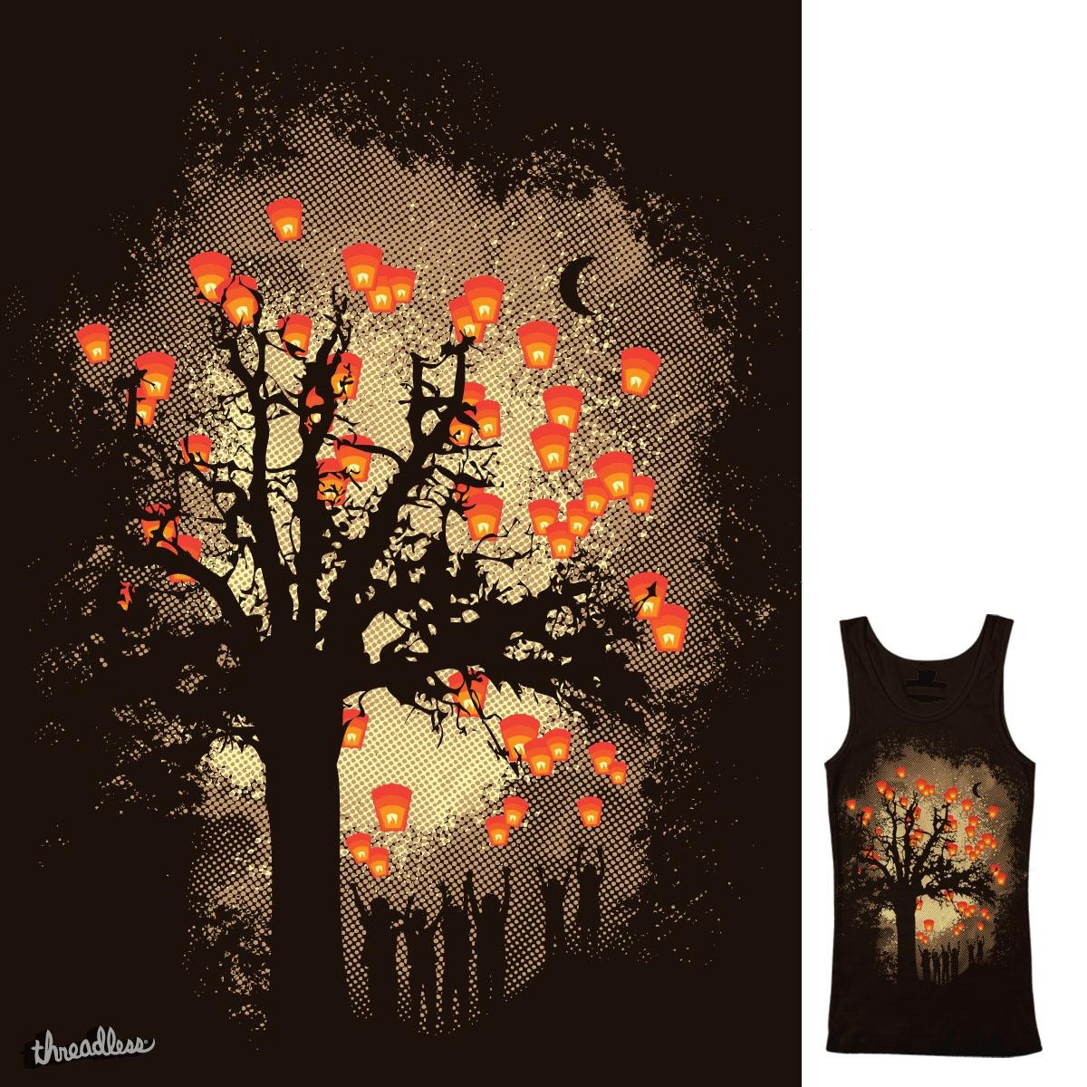 Lanterns by daletheskater on Threadless