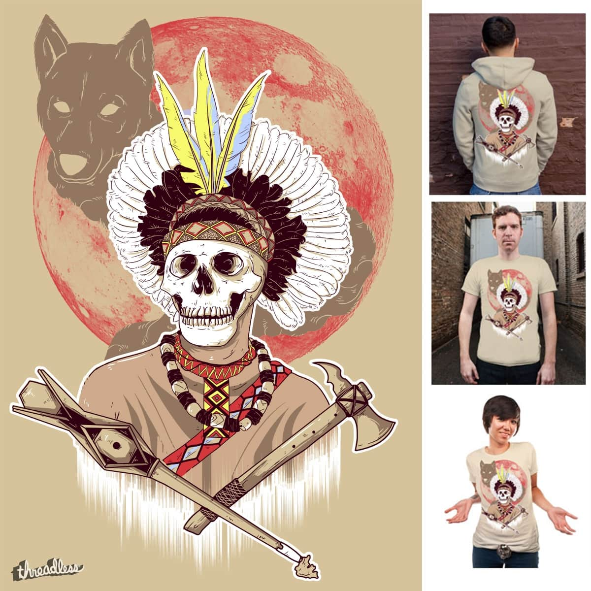 Apache by douglasoliveira on Threadless