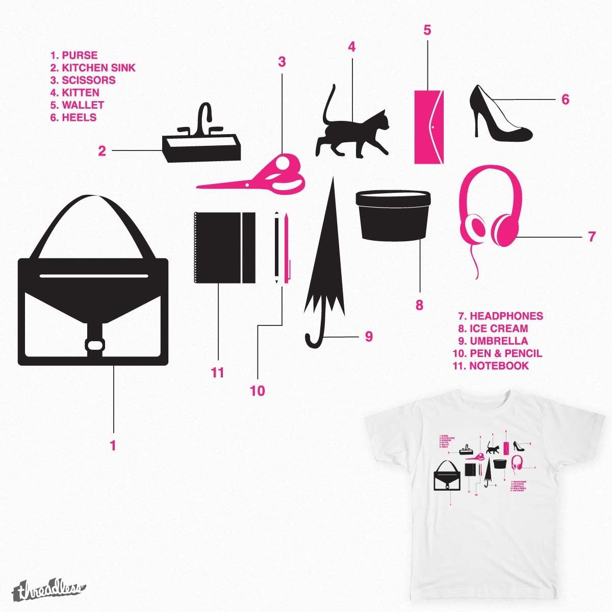 Everything—Including the Kitchen Sink by random_enigma on Threadless