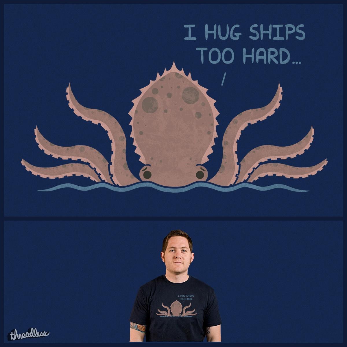 Kraken Problems by TeoZ on Threadless