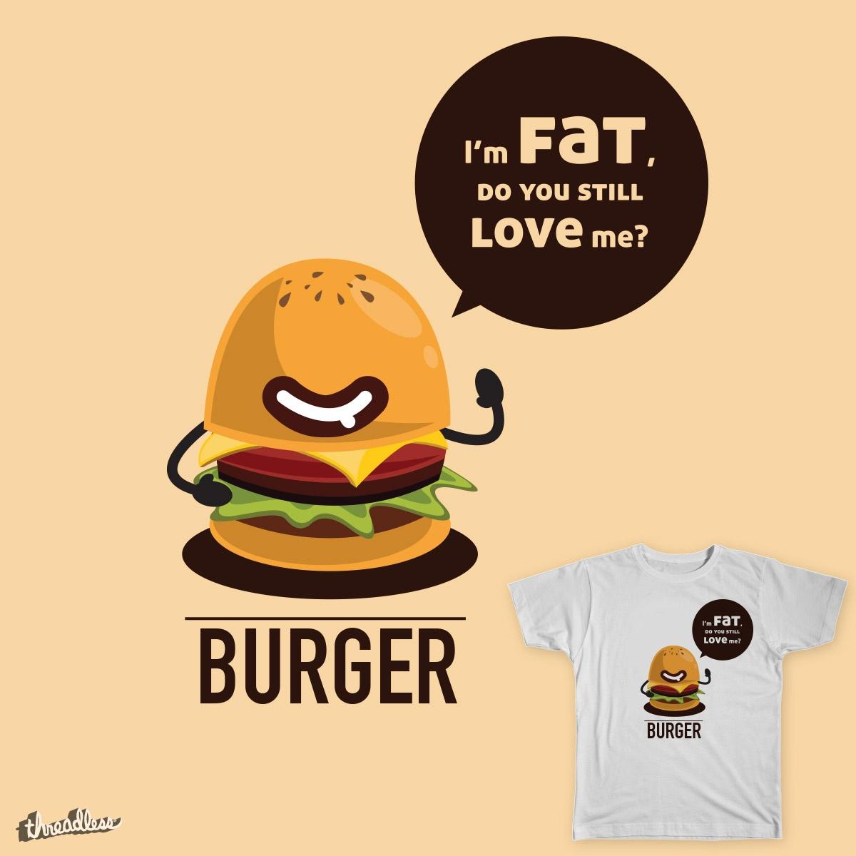 Burger by stefan.kang.1 on Threadless