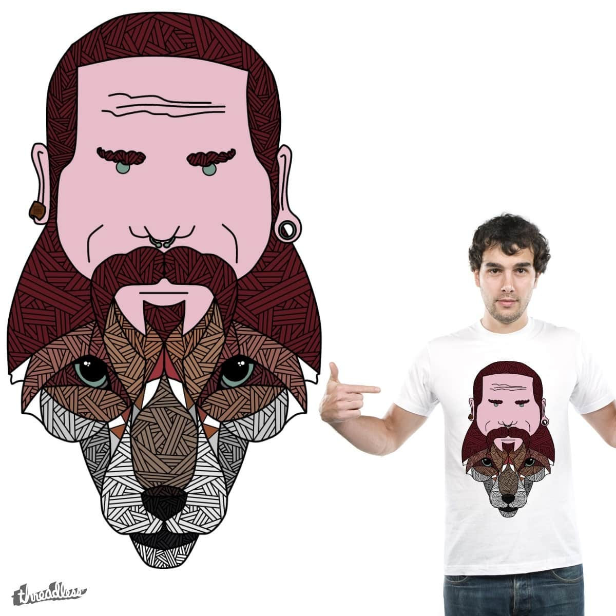 Man is an Animal by Bacustro on Threadless