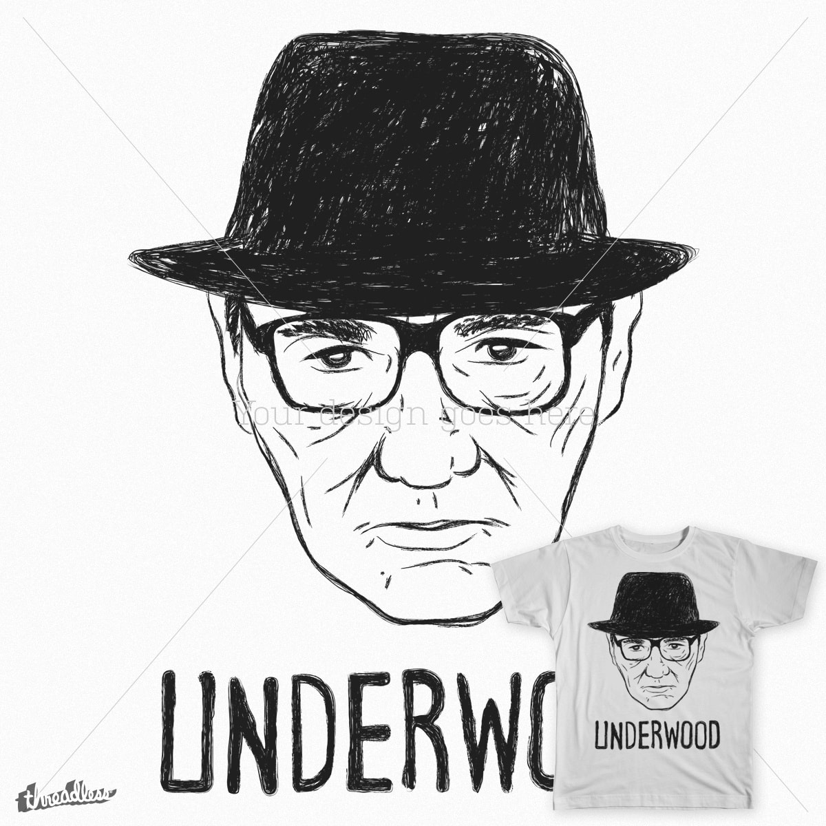 Underwood sketch by TP79 on Threadless