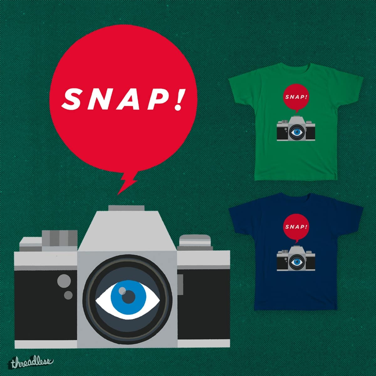 SNAP! by Spotsworth on Threadless