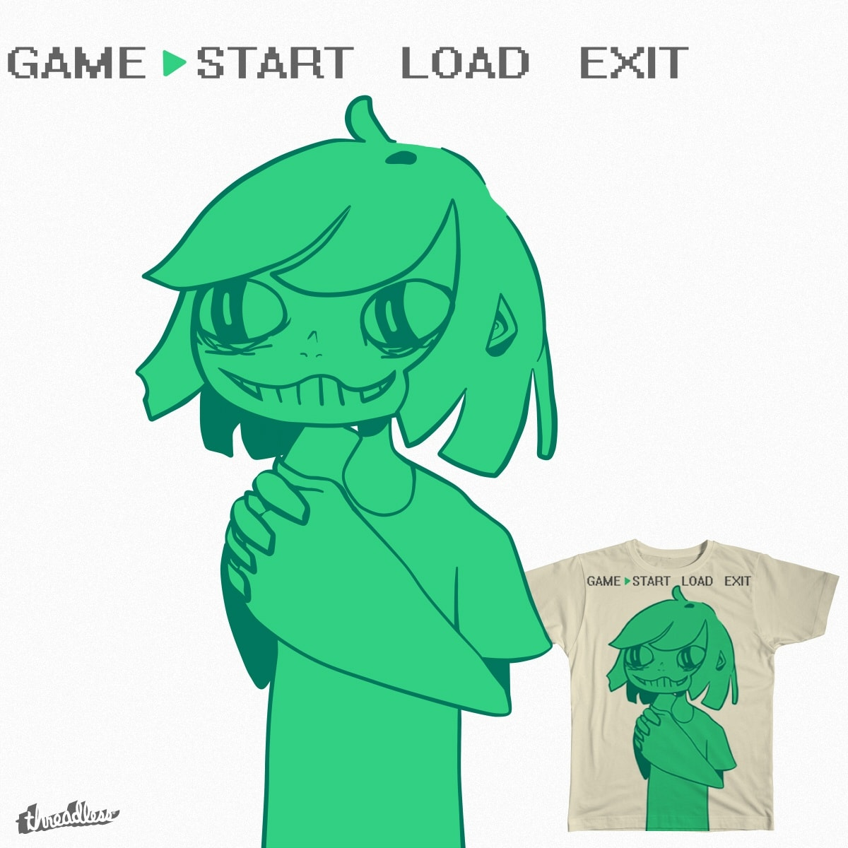 START GAME by grotesqueries on Threadless