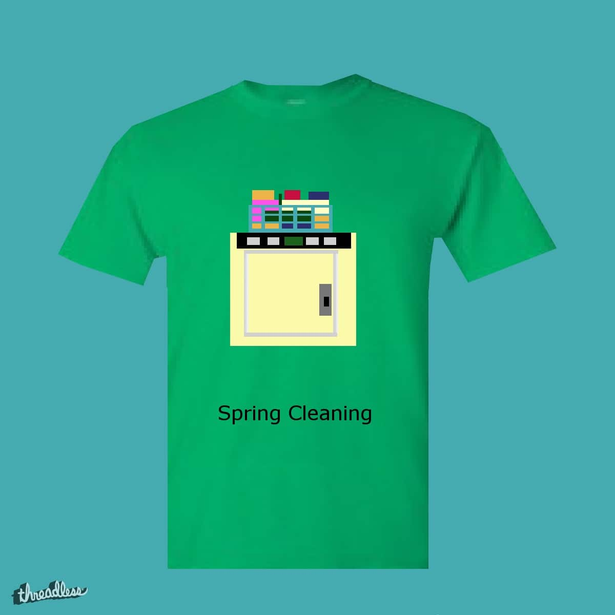 Spring Cleaning by jojojob75 on Threadless