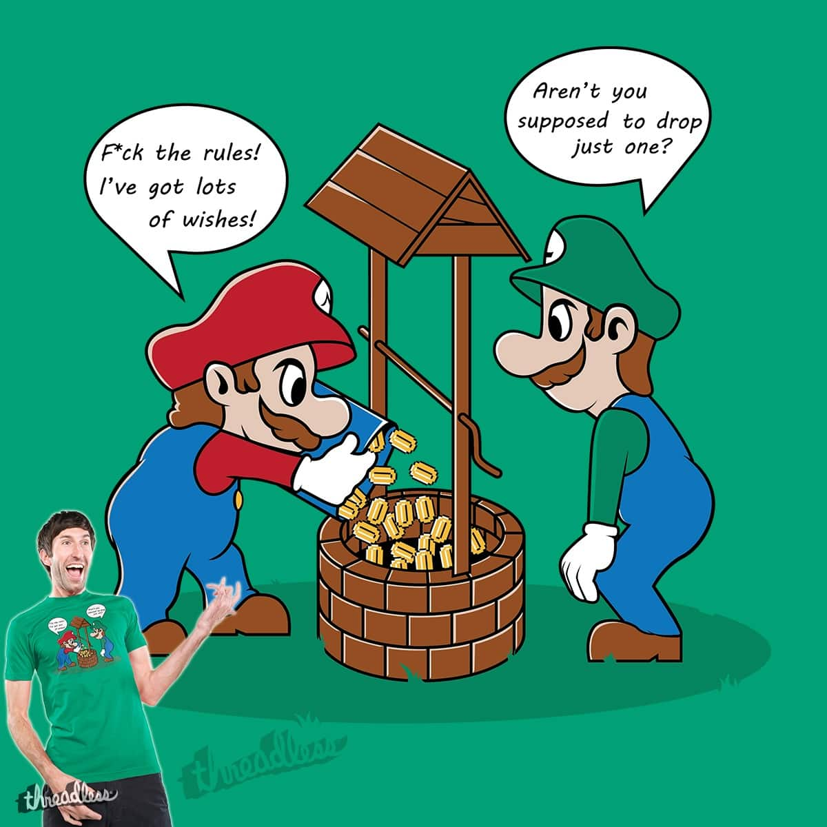 A LOT of wishes! by DesignsbyReg on Threadless