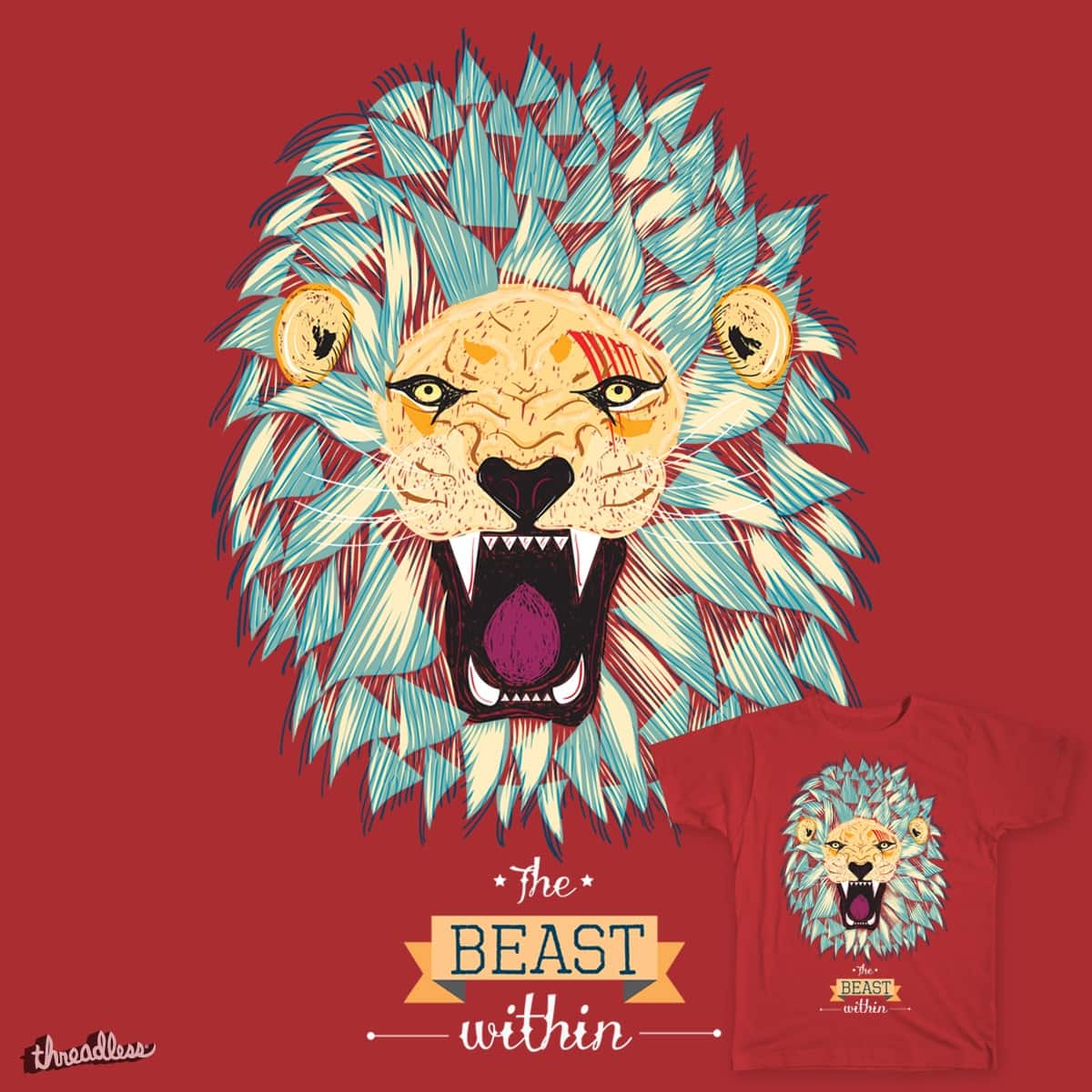 The Beast Within by tempt92 on Threadless