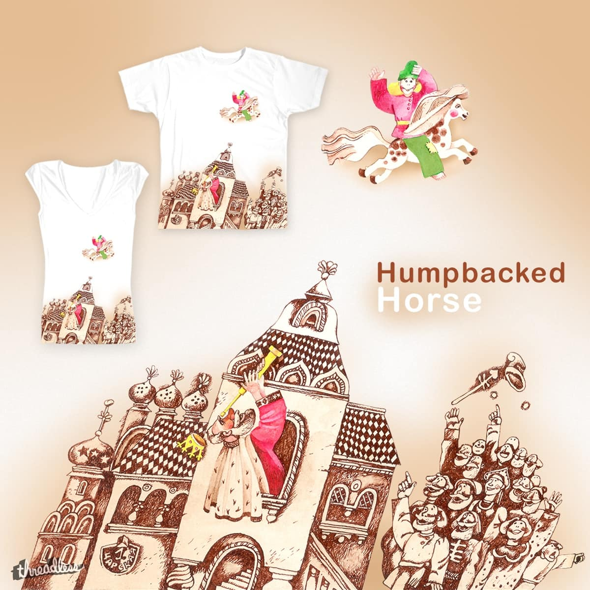 The Little Humpbacked Horse by IlyaB on Threadless