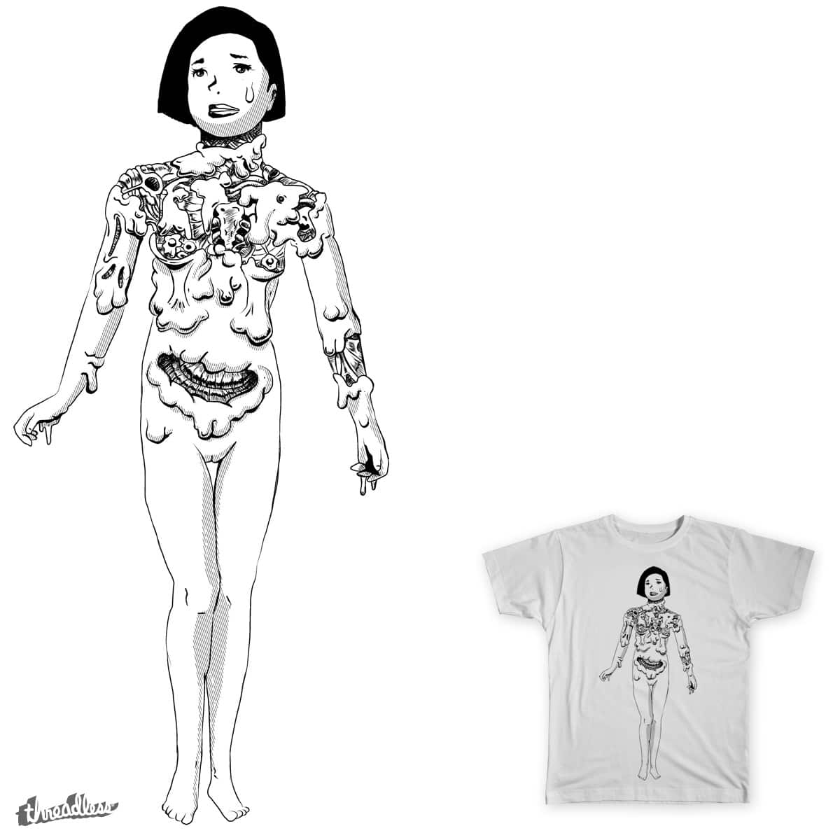 Mary by irkzlabel on Threadless