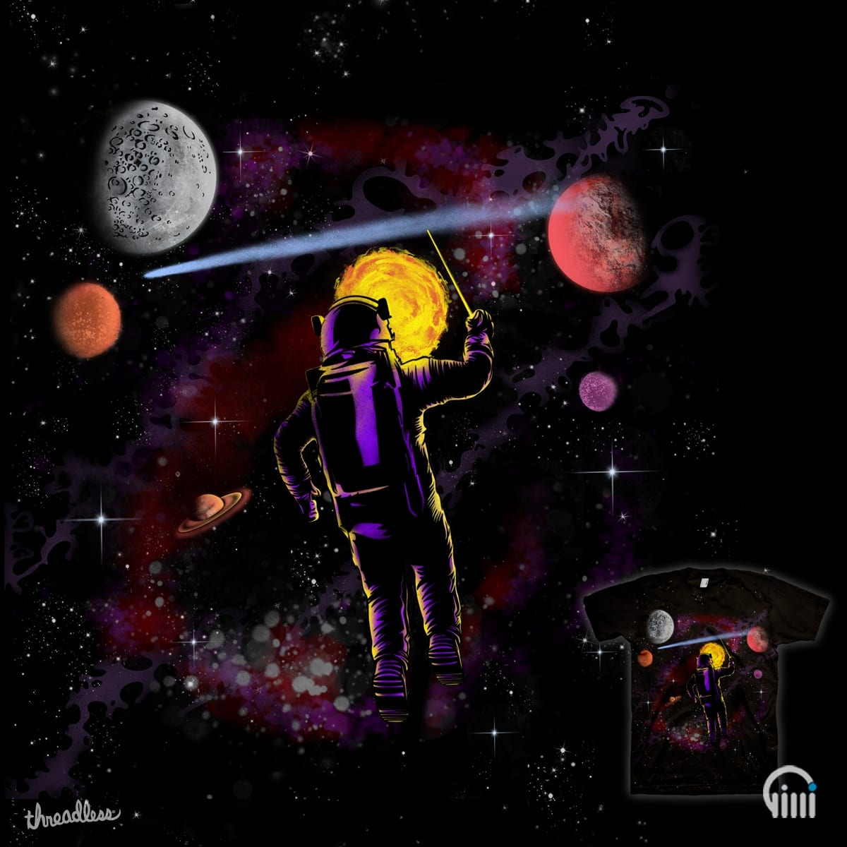 Symphony of the Planets by opippi on Threadless