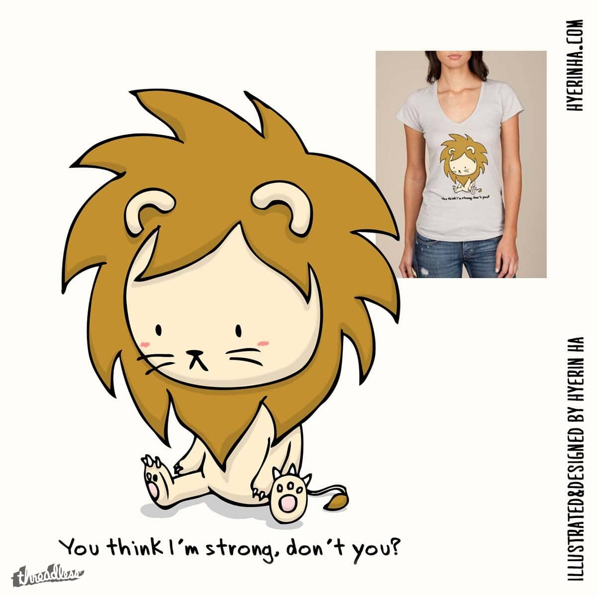 Strong by bluezel on Threadless