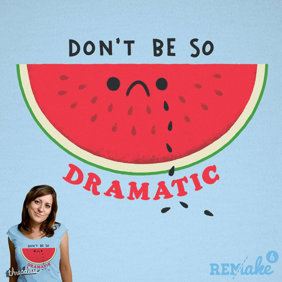 Melondrama Queen by Morkki and mip1980 on Threadless