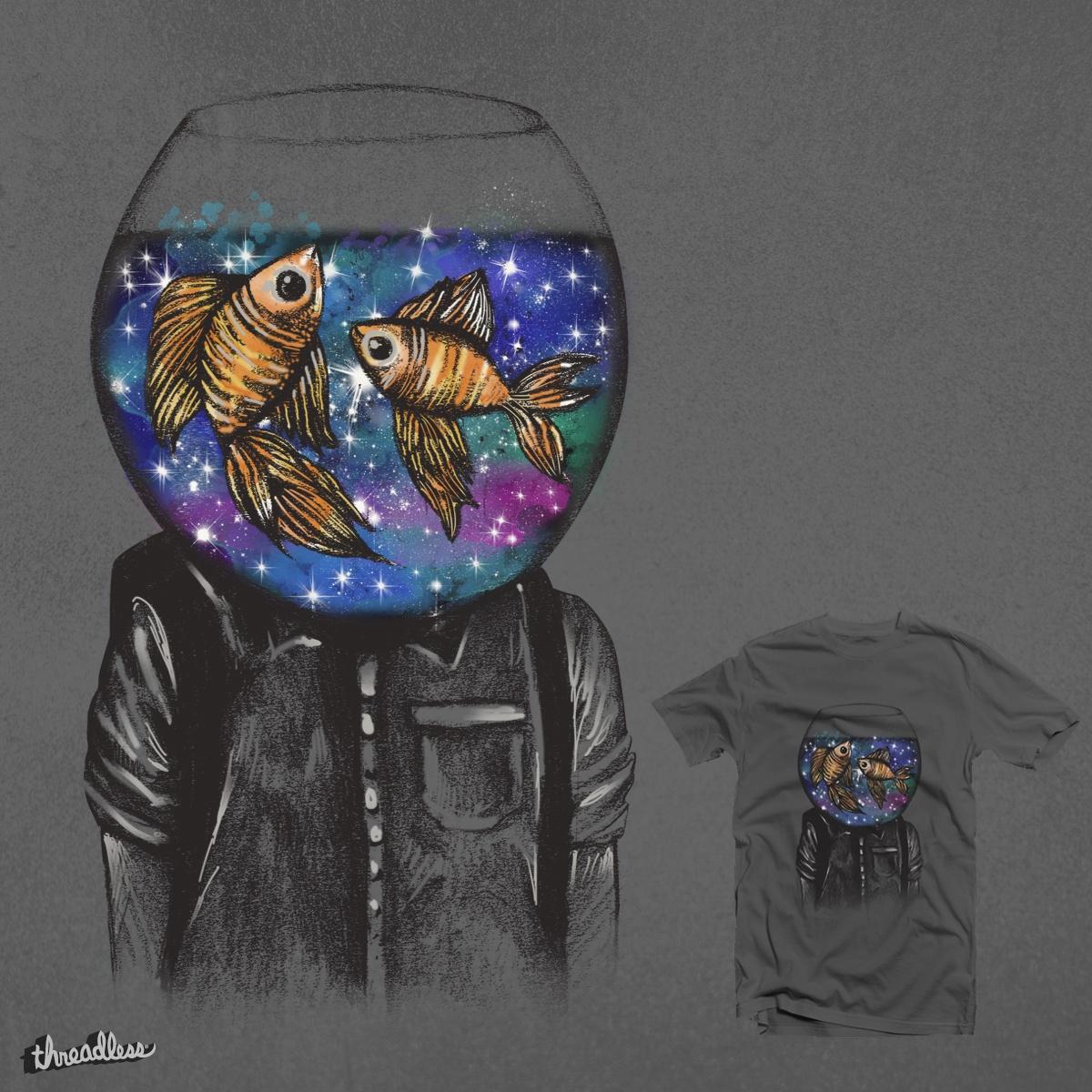 Swim Around My Cosmic Dreams by dandingeroz on Threadless