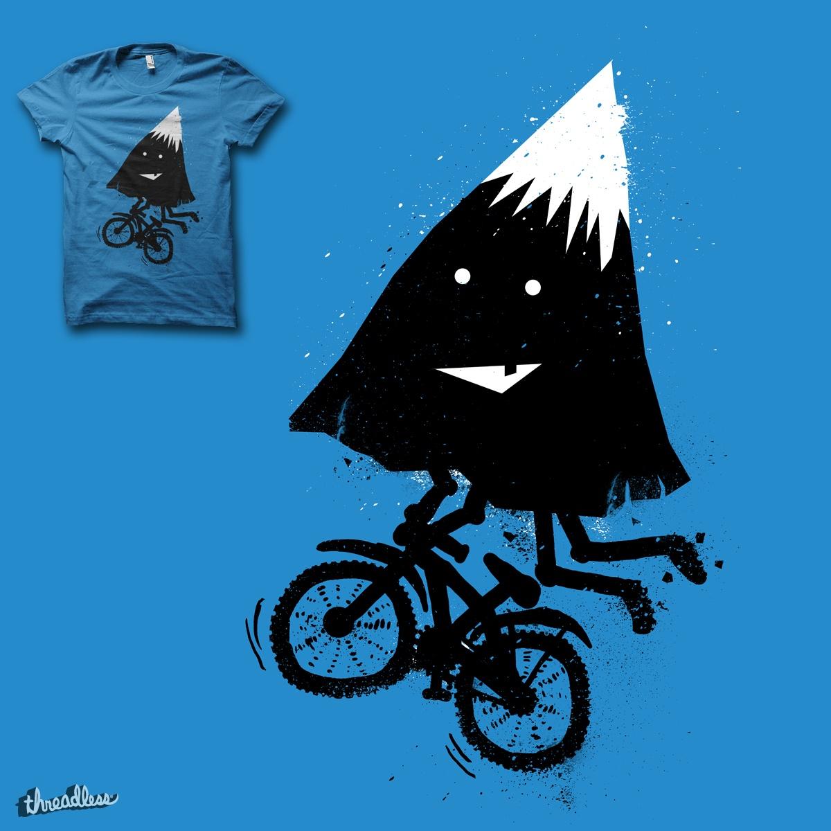 Mountain Biking  by biotwist on Threadless