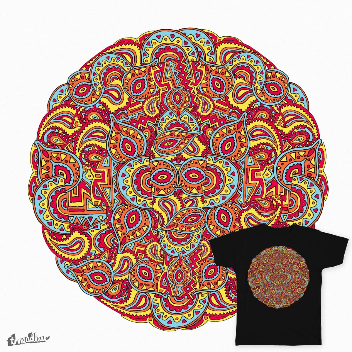 Psychedelia day 2 by richsaenz on Threadless