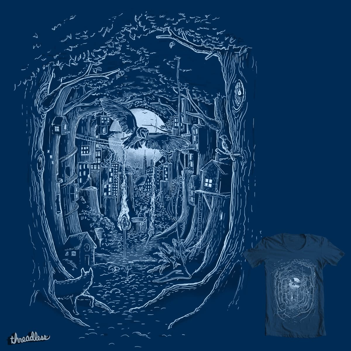 Through the Forest by sausage_moe on Threadless