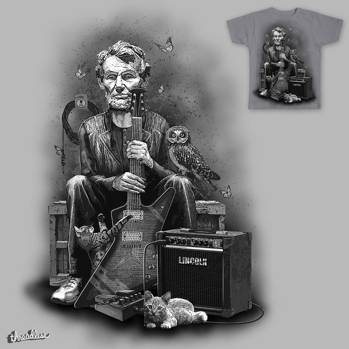 THE GUITARIST by NARNIAZ on Threadless