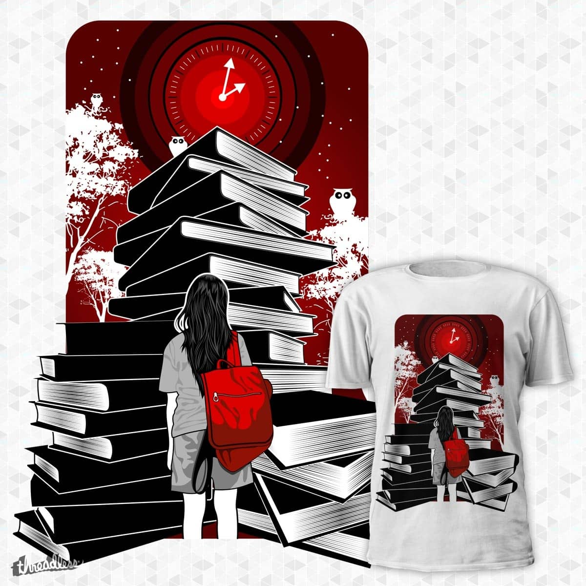 Study Hard by ryanok on Threadless