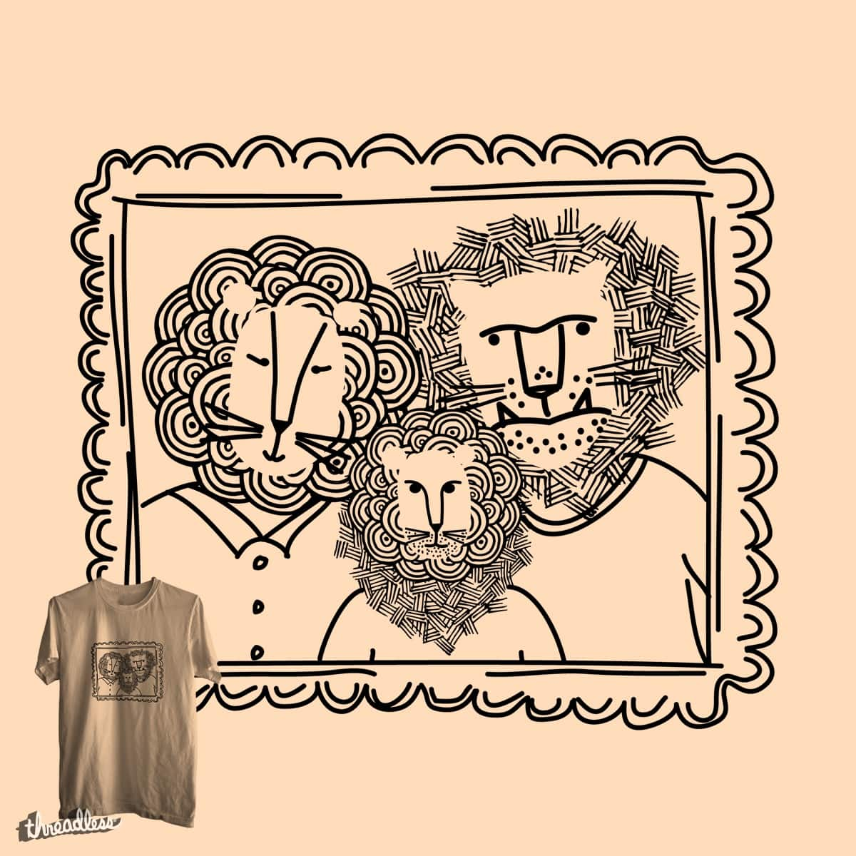 Family Portrait by ndough on Threadless