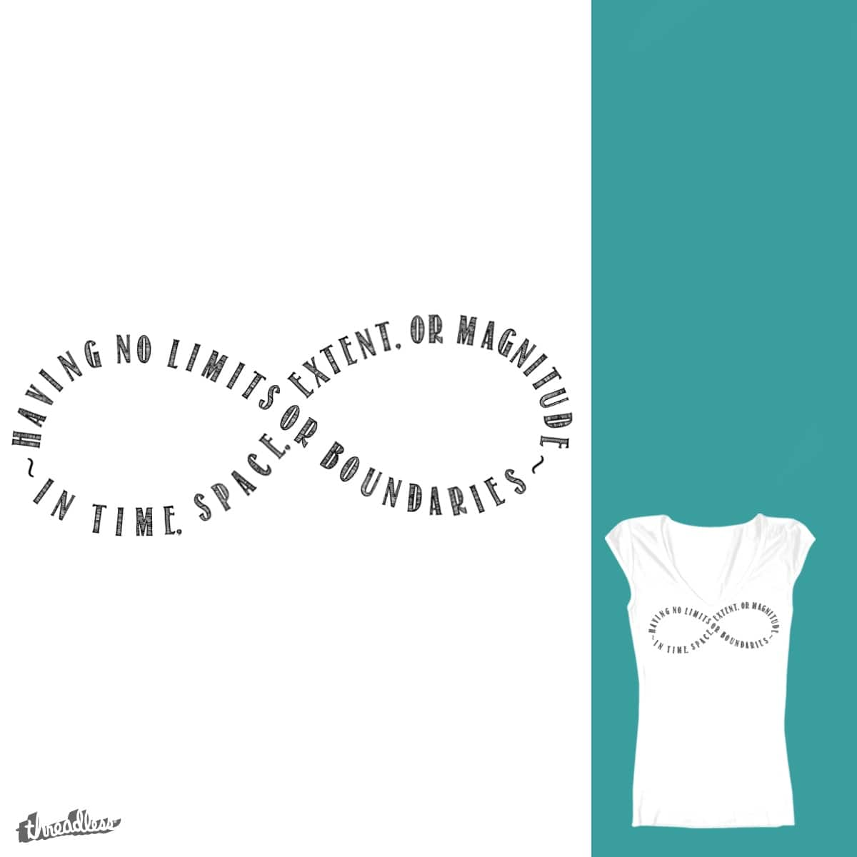 Infinite by Valsie on Threadless