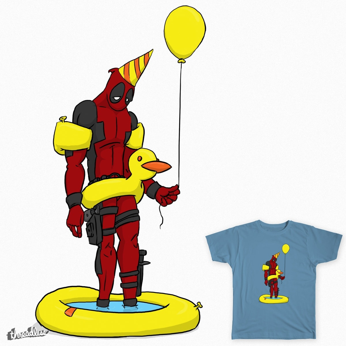 Dead Pool Party by naters-art on Threadless