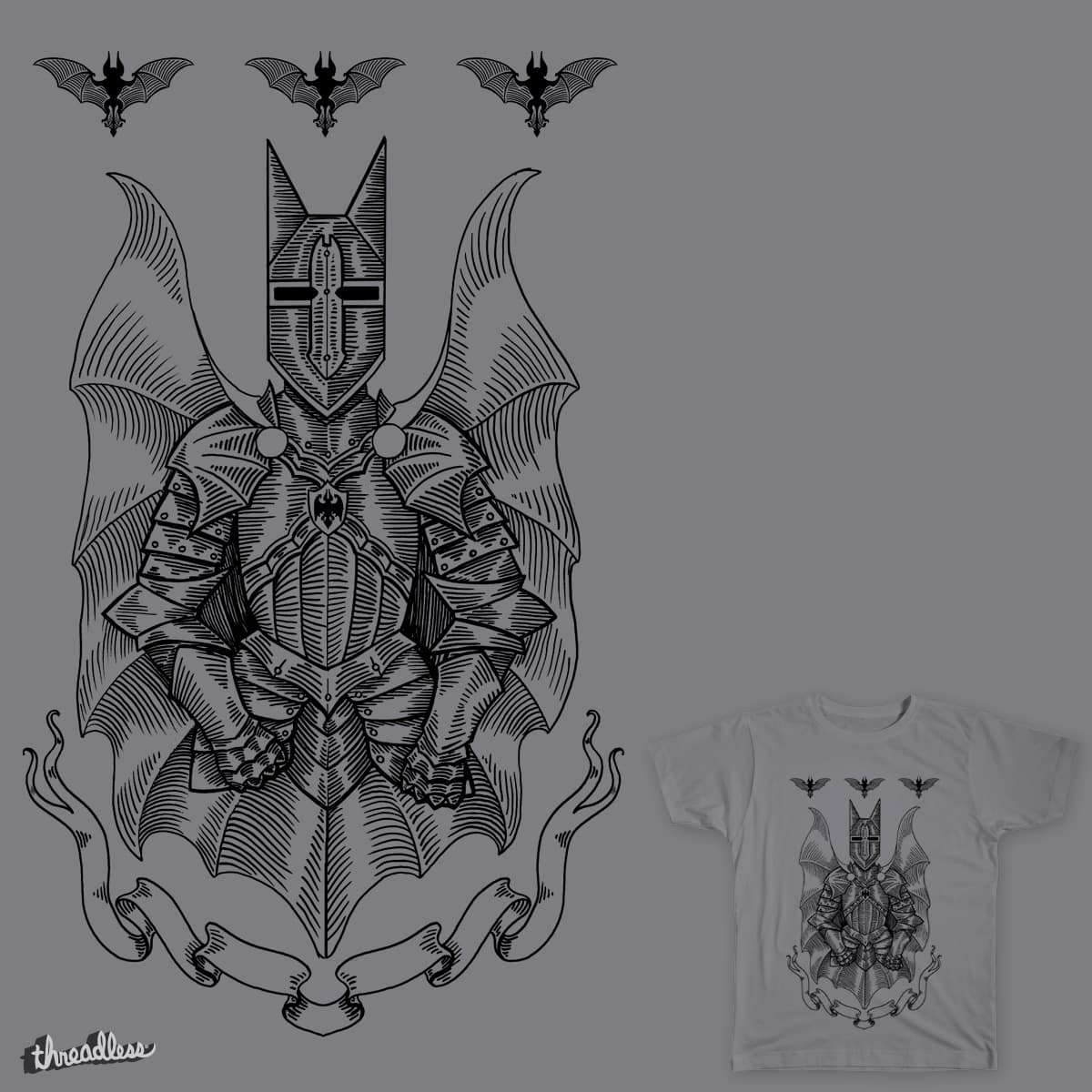 The Old Dark Knight by Verreaux on Threadless