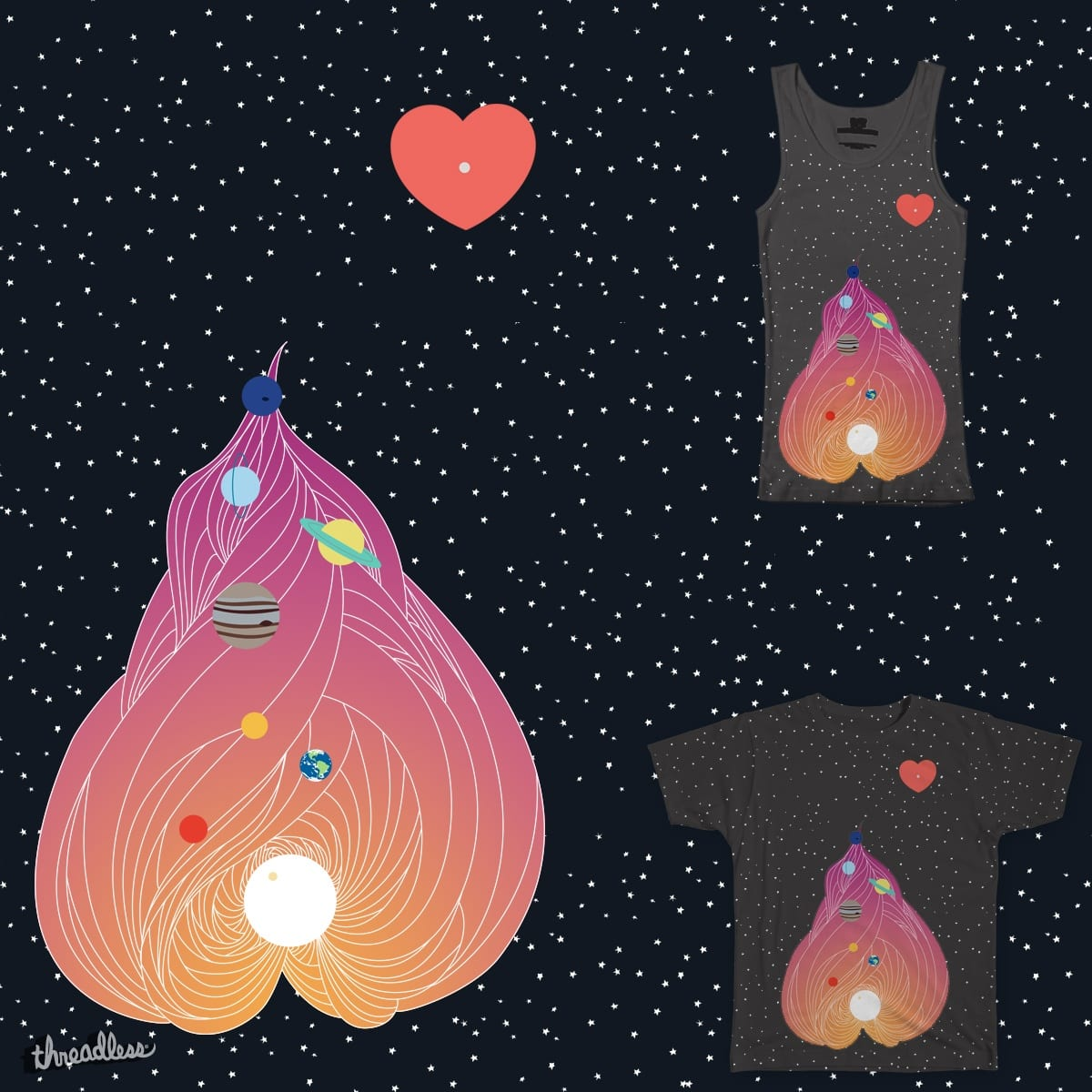 We Still Love You Pluto by kimchangestheworld4ever on Threadless