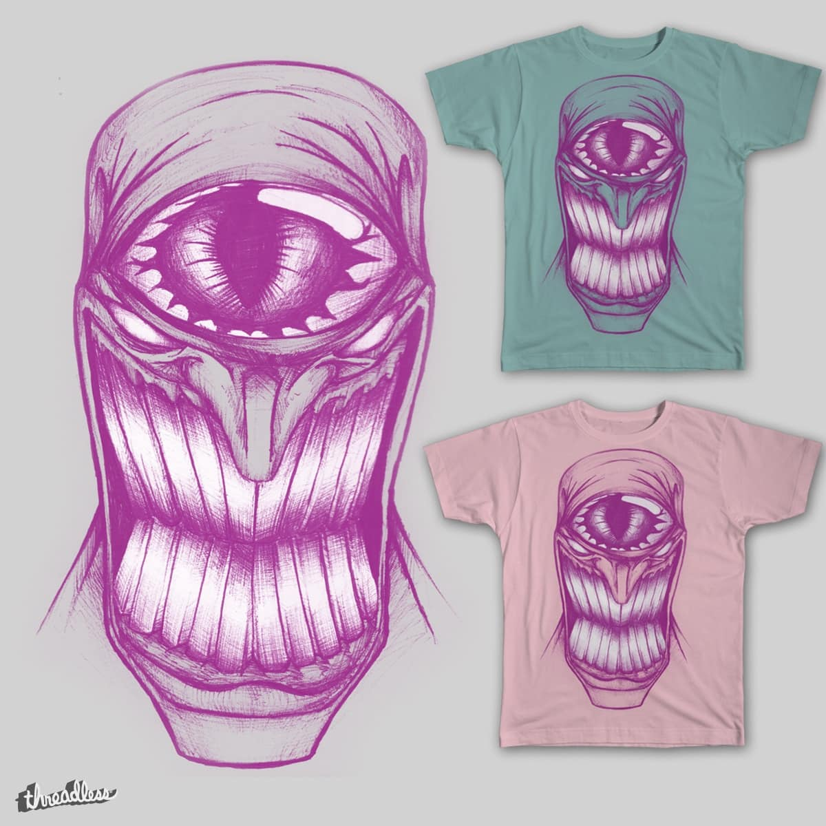 Third Eye Smile by daniel.balkazar on Threadless