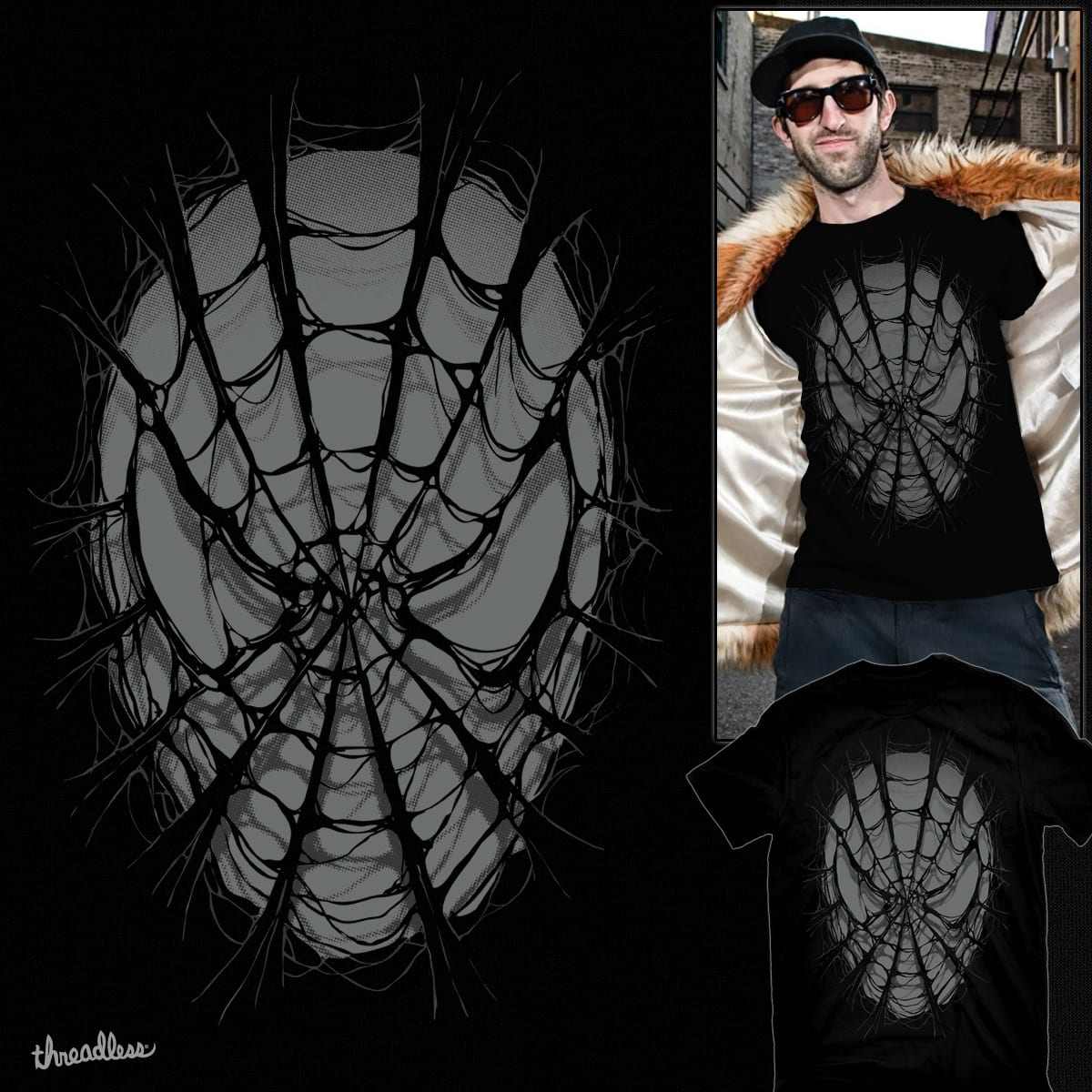 SpiderWeb by RicoMambo on Threadless