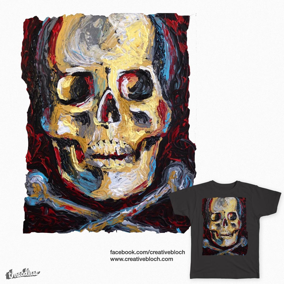 Skull by creativebloch on Threadless
