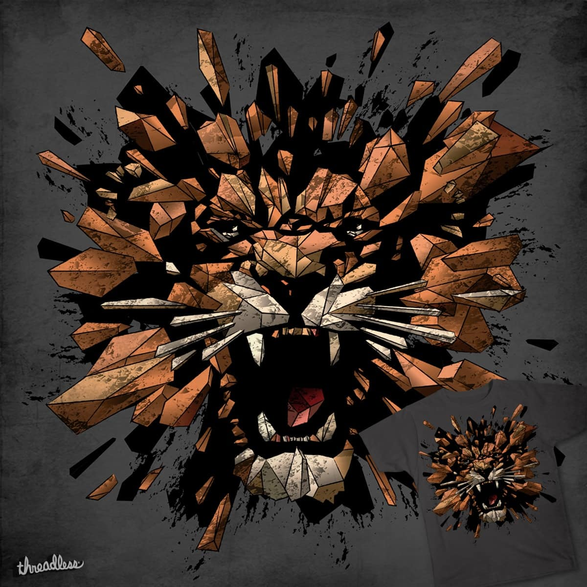 ROAR BY NATURE by Vipin Das on Threadless