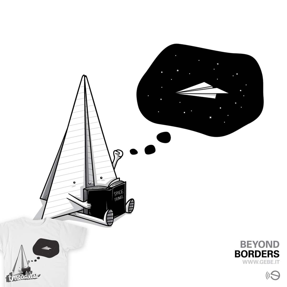 Beyond borders by gebe on Threadless