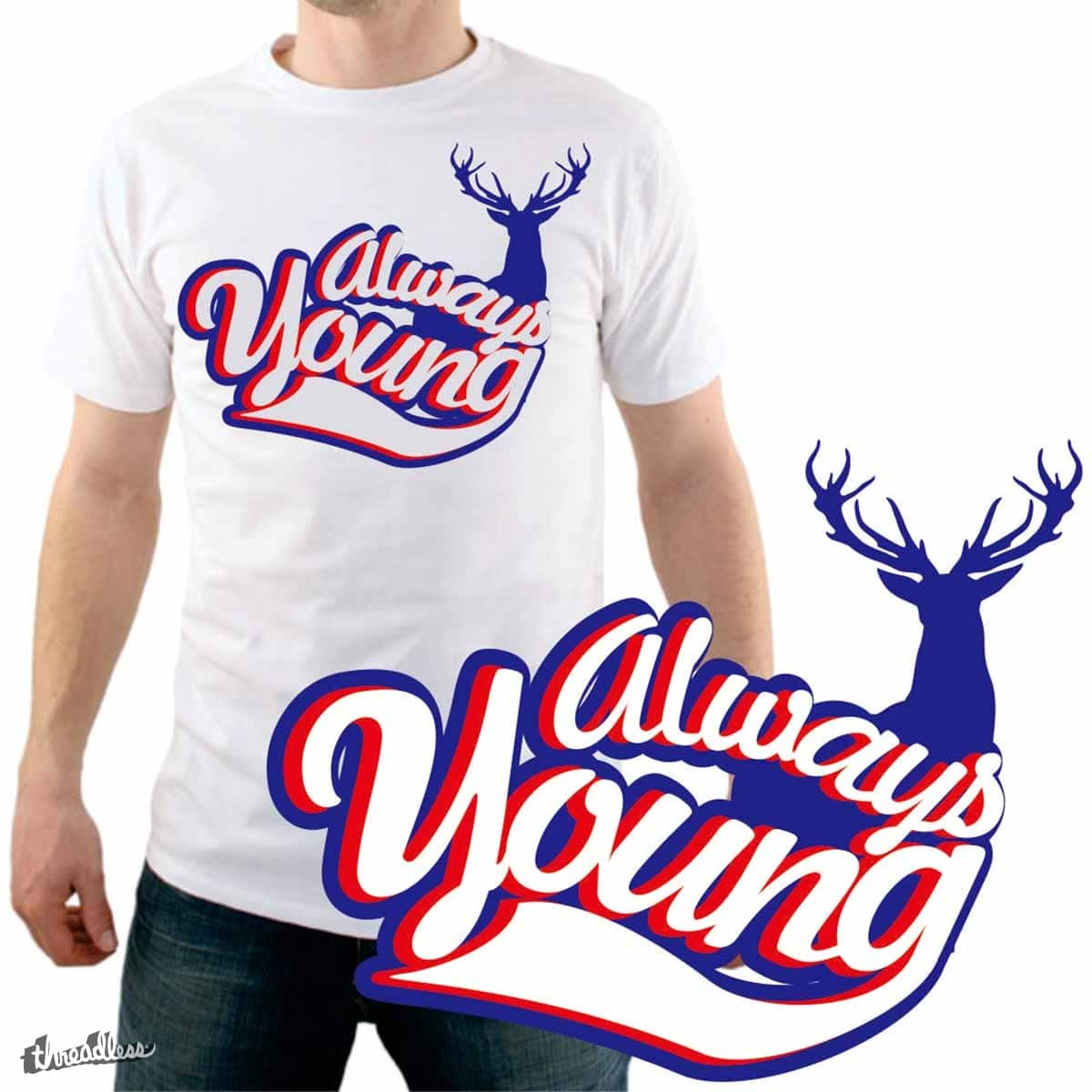 always young by gupikus on Threadless