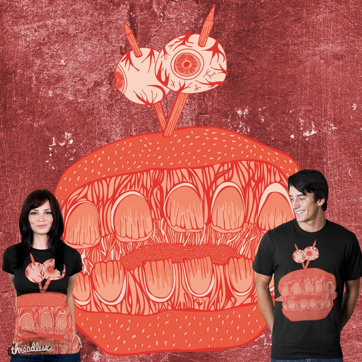 Burgers Are Us by Whipbot on Threadless