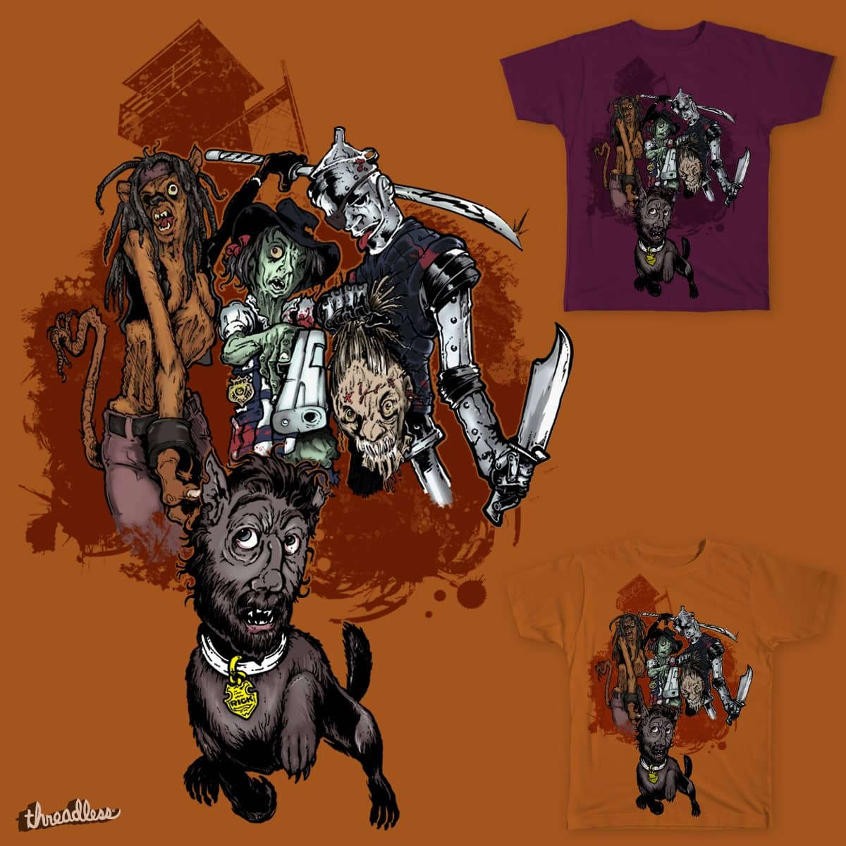 The Wonderful Walkers Of Oz (No Place Like Woodbury) by TayNiggz on Threadless
