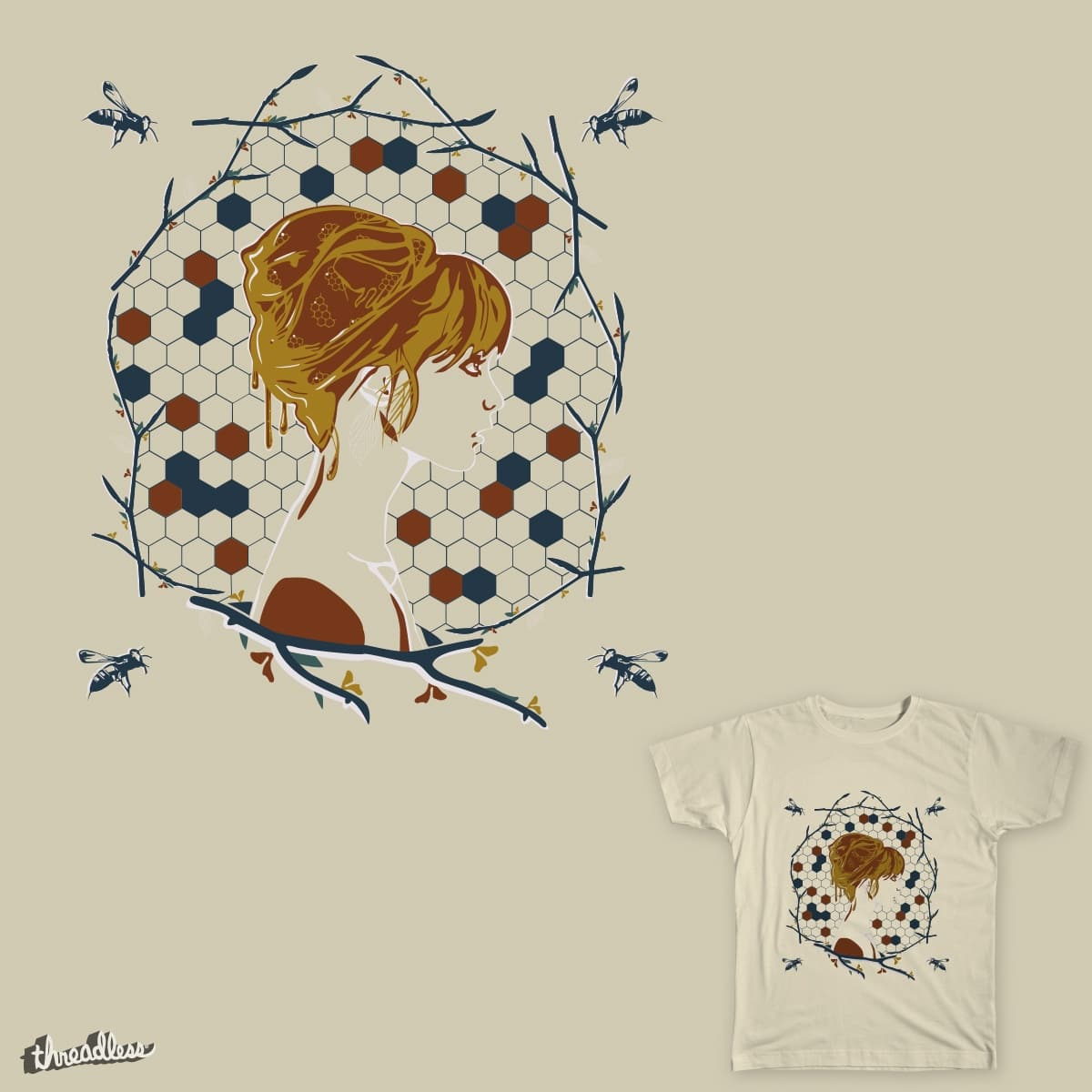 The Beehive by wjtinder on Threadless