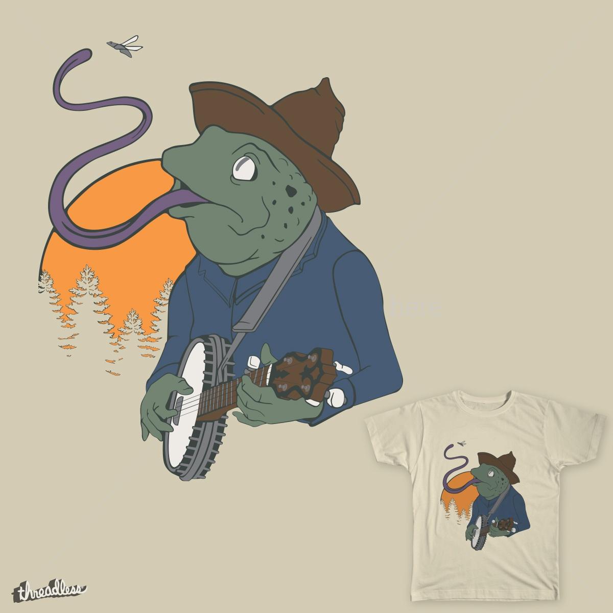 Southern Frog Jingle  by Alex_Pera on Threadless