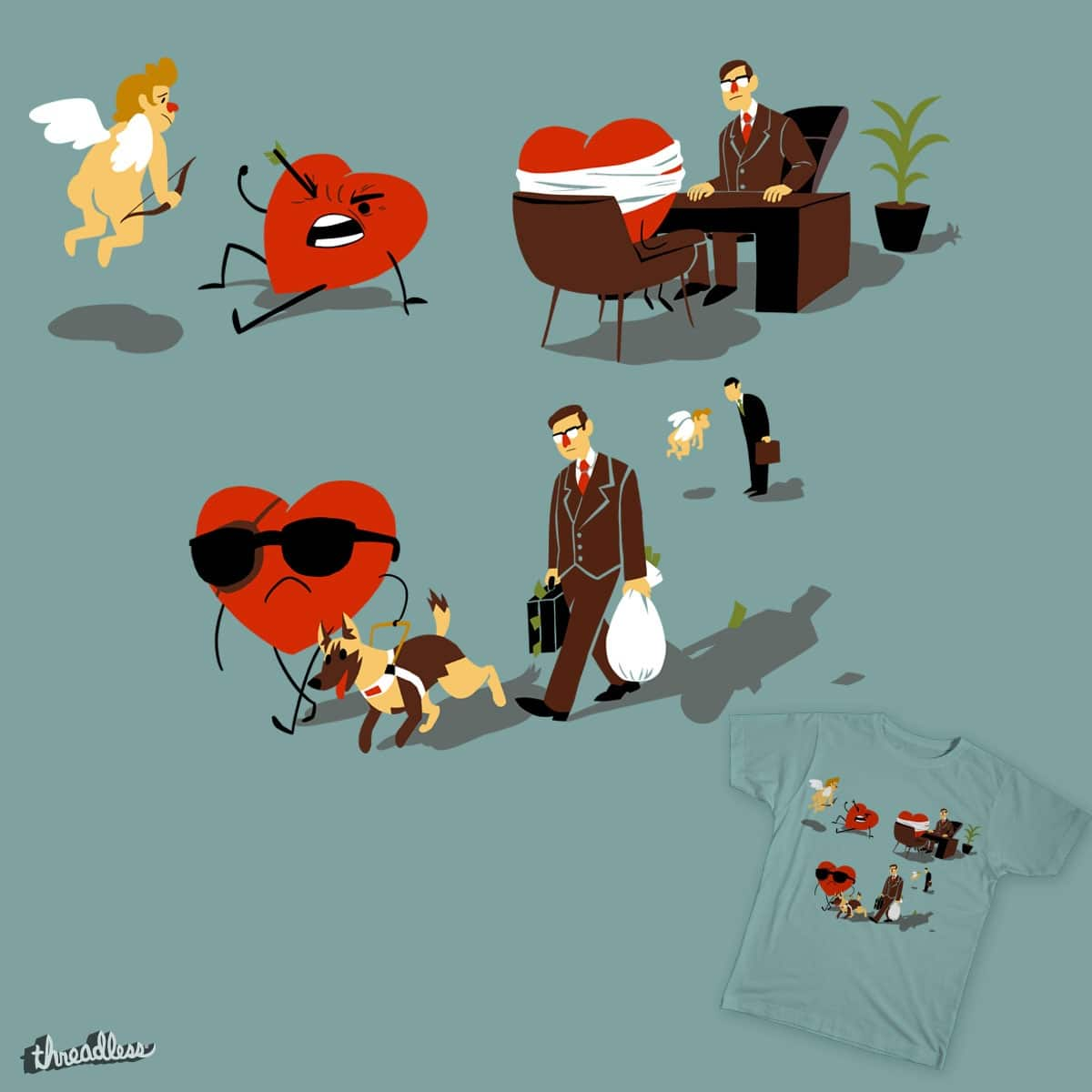 The Laws of Love by DominoD on Threadless