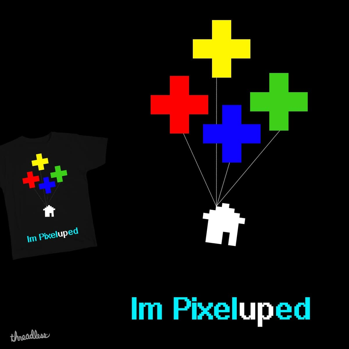 im pixelUPed by SR-GED on Threadless