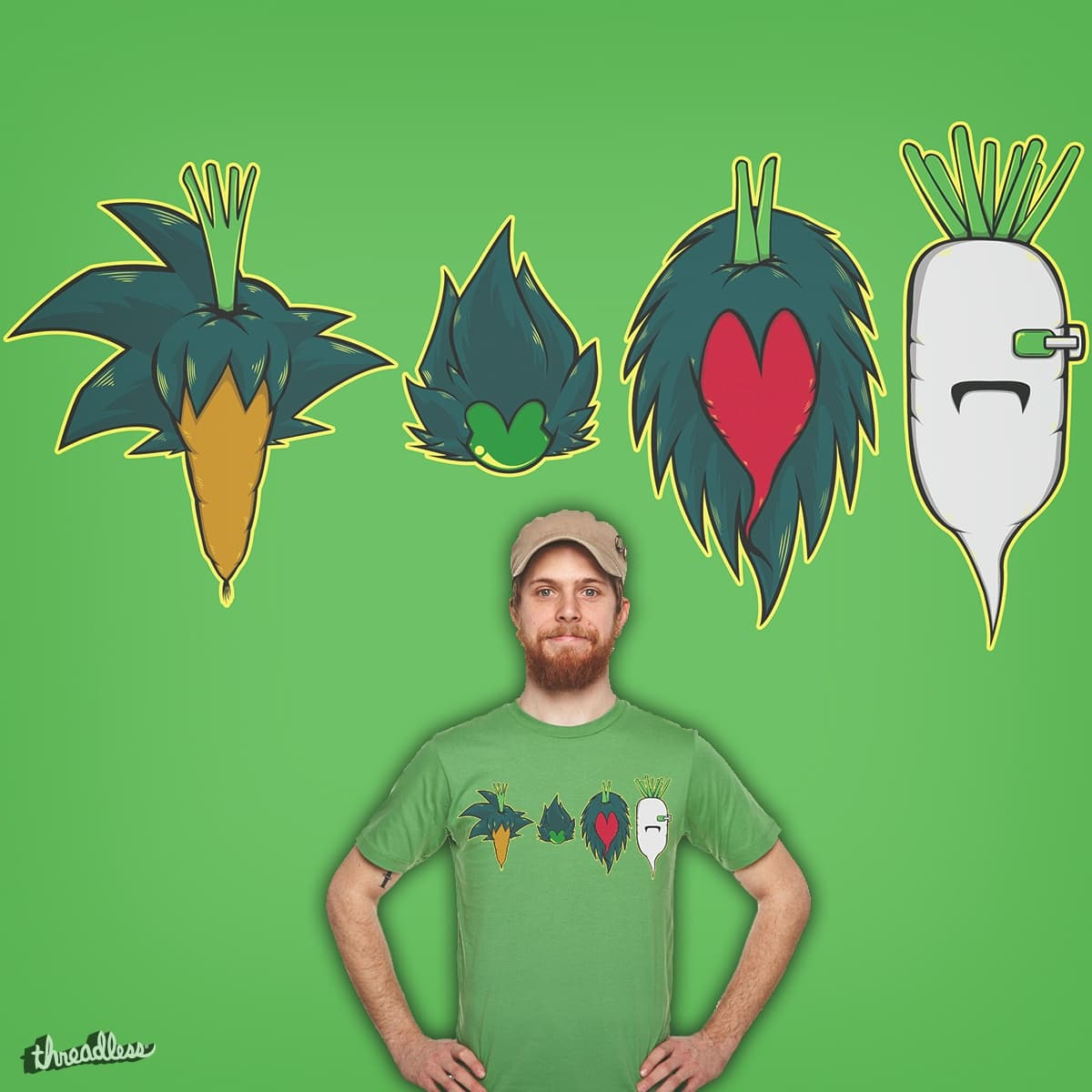 They came from Vegita by jinshio on Threadless