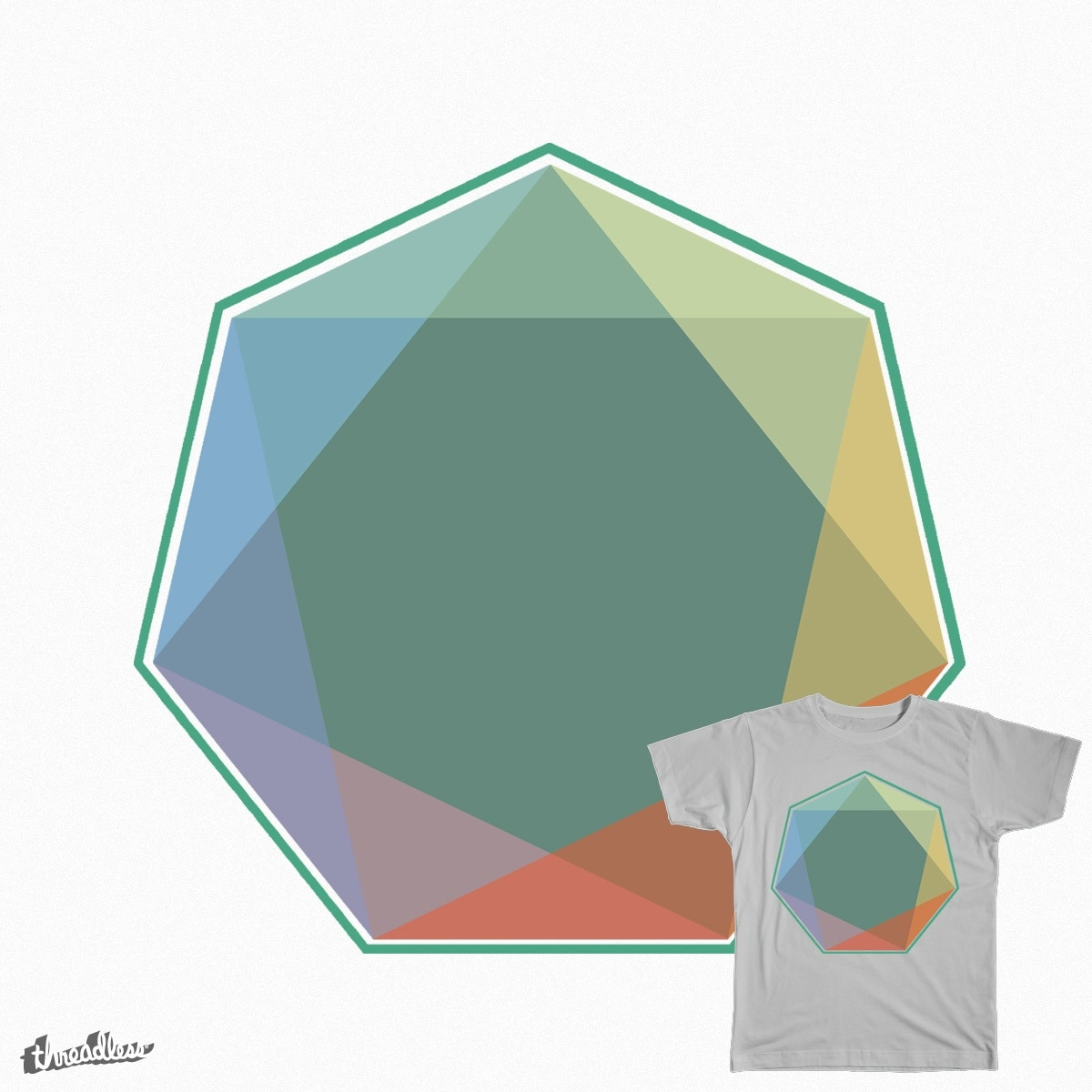 Heptagon by NK1112 on Threadless