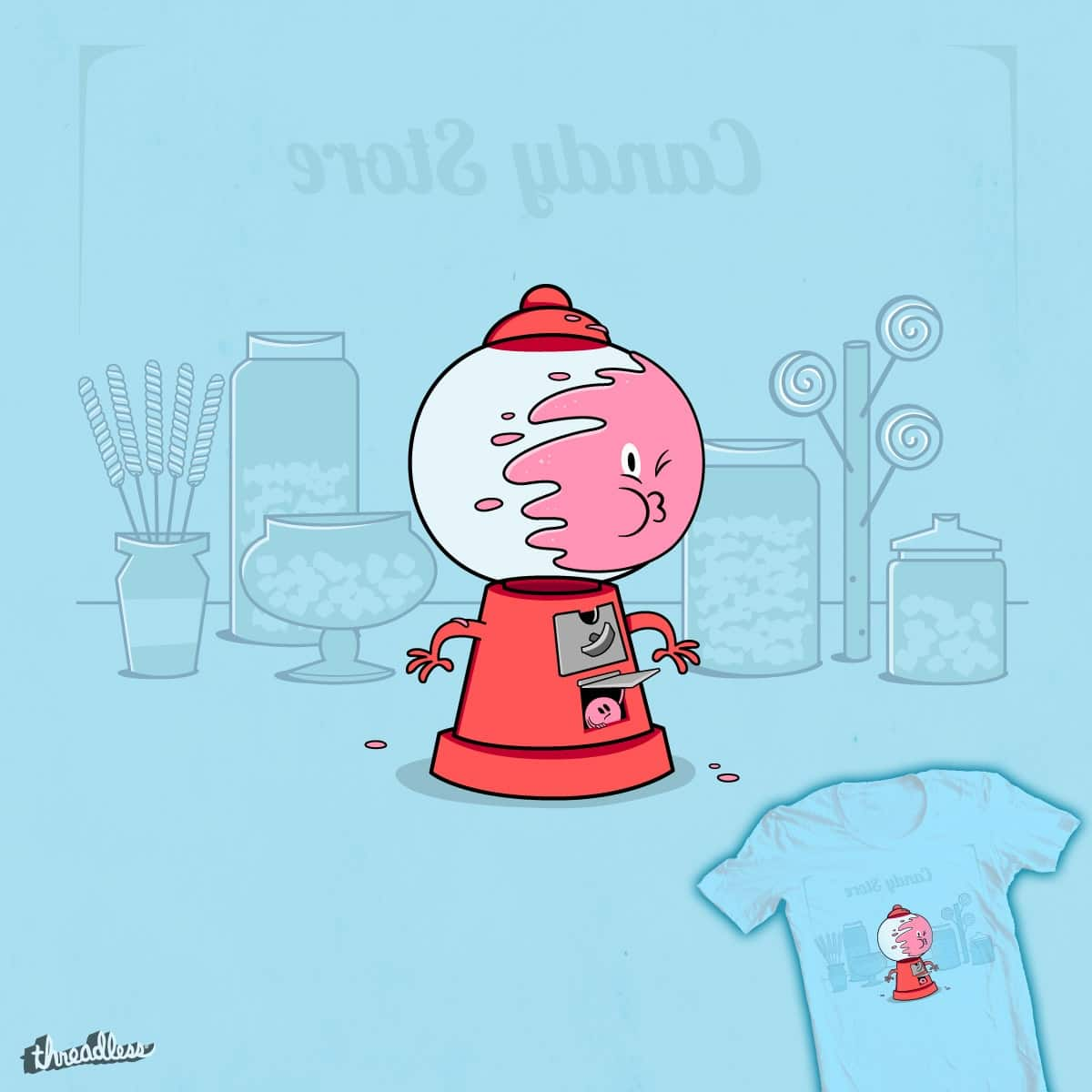 Bubble Trouble by FRICKINAWESOME and weird&co on Threadless