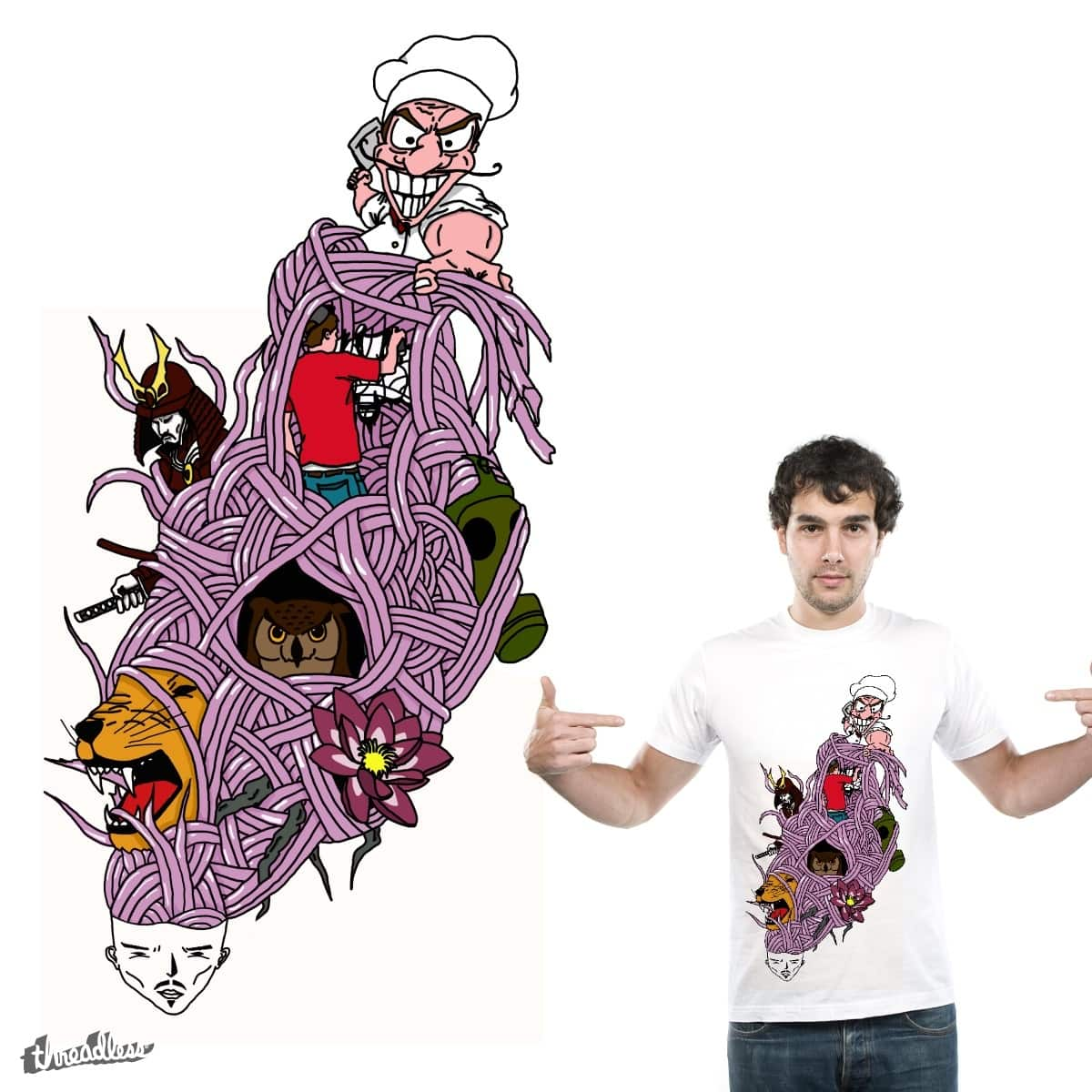 Mind by Bacustro on Threadless