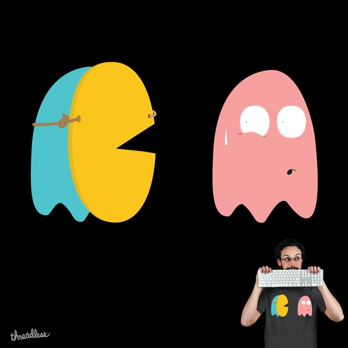 scary by paulobbruno on Threadless